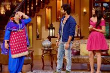 Ileana D'Cruz, Shahid Kapoor promote 'Phata Poster Nikhla Hero' on the sets of 'Comedy Nights with Kapil'