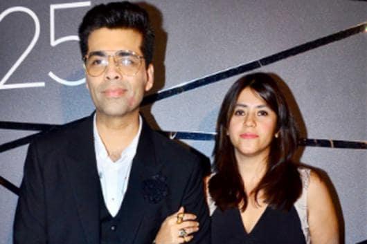 Image: File photo of Karan Johar, Ekta Kapoor