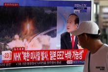 North Korea Test-fires Ballistic Missile, Lands in Japan's Exclusive Economic Zone