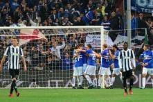 Serie A: Sampdoria Down Juventus as Buffon, Barzagli rested