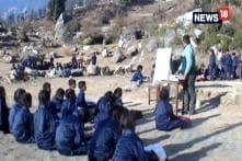 No School Building in Tehri Garhwal School