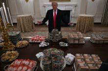 Trump Buys Junk Food for White House Banquet, Twitter Provides the Roast