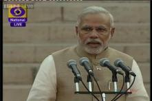 PM Narendra Modi's first message to the country after assuming office