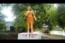 After BR Ambedkar, Now Mahatma Gandhi's Statue Painted Saffron in UP