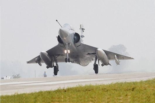File photo of a Mirage 2000 aircraft.  (Image: PTI)