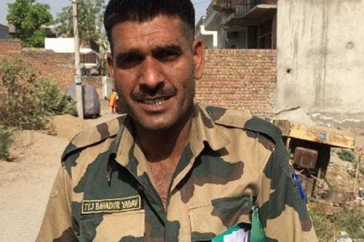 File image of Tej Bahadur Yadav.