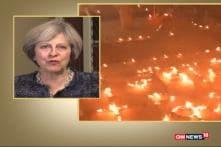 Watch: British PM Theresa May Wishes Happy Diwali