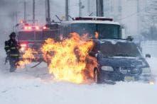 Massive Winter Storm Roars into U.S. Northeast