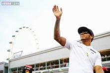 Lewis Hamilton fastest in second practice for Korean Grand Prix