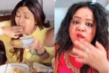 Watch: From Shilpa Shetty to Bharti Singh, Indian Celebs Take up TikTok #PaniPuri Challenge