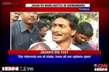 Watch: Jagan Mohan Reddy casts his vote in Kadapa