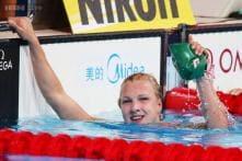 Ruta Meilutyte sets world record in 50 breaststroke