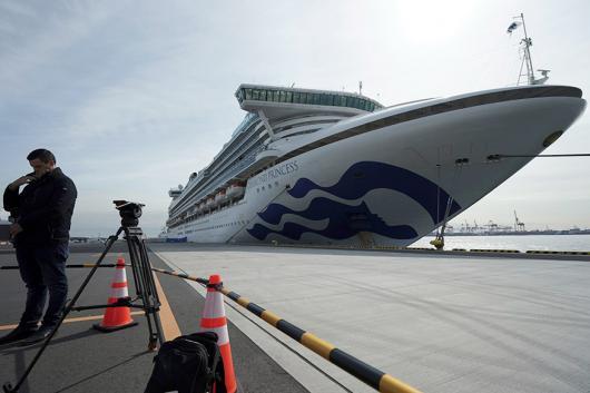 File photo of Diamond-Princess, a coronavirus infected cruise ship.
