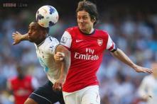Arsenal claim 1-0 away win over rivals Tottenham