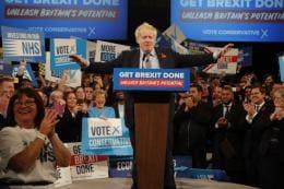 It's a Powerful New Mandate, Says Boris Johnson as Conservatives Win Parliamentary Majority