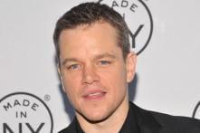 Glad that I am not as famous as Brad Pitt: Matt Damon
