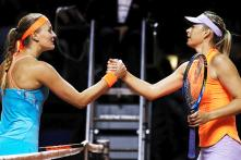 Stuttgart Open: Gutsy Mladenovic Knocks Sharapova Out in Semi-finals