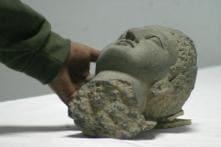 Islamabad Museum Puts Rare Statue of Lord Buddha's Head on Display