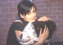Yana gets beary with PETA