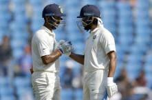 India vs Sri Lanka: Centurions Vijay & Pujara Put Hosts in Command