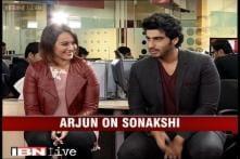 e Lounge unwind: Arjun Kapoor, Sonakshi Sinha and Manoj Bajpai on their latest movie 'Tevar'