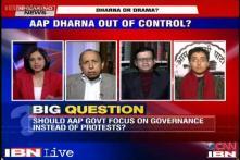 Is Arvind Kejriwal's dharna against Delhi Police anarchy?