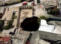 Guatemala sinkhole swallows homes