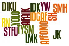 15 Acronyms You Should Know to Keep up With the Latest Internet Lingo