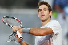 Del Potro, Baker, Fish pull out of French Open