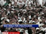 Politicians making most of Govt-sponsored Haj trip