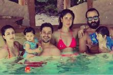 Taimur and Saif Ali Khan Star in the Perfect Candid Shot on Their Maldives Vacation; See Pictures