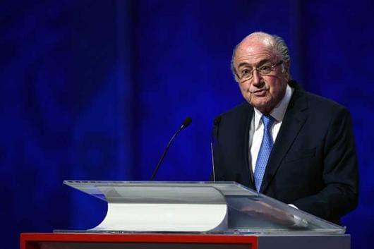 File image of former FIFA President Sepp Blatter.
