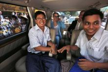 White House Welcomes Release of Reuters Journalists Jailed in Myanmar