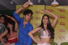 PICS: Janhvi Kapoor, Ishaan Khatter Groove to 'Zingaat' Song