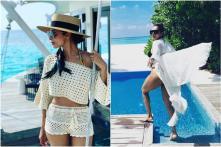 Amid Wedding Rumours With Arjun Kapoor, Malaika Arora Having Blast With Her Girl Gang in Maldives