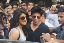 Gotcha! SRK and Priyanka back in Mumbai, Preity's act of kindness