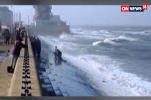 Watch: Trying To Save Man, Group Nearly Washed Away By Waves In UK