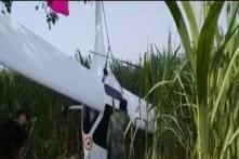 IAF Plane Crash Lands in UP's Baghpat