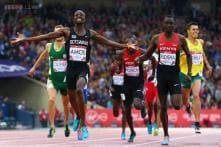 CWG 2014: Nijel Amos wins 800m gold to shock Olympic champion David Rudisha