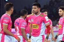 Pro Kabaddi 2019: Jaipur Pink Panthers Beat Puneri Paltan to Get 1st Win at Home