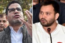 Tejashwi Launches Counter Attack as Prashant Kishor Denies Lobbying for Lalu-Nitish Truce