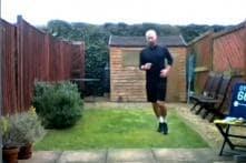 #6metregardenchallenge: British Man Runs Marathon in Backyard During Lockdown