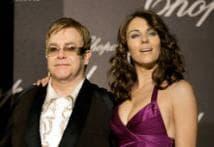 Elton best man at Liz-Nayar wedding