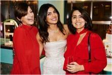 Sonali Bendre Shines in Red at Priyanka Chopra's Bridal Shower, See Pics