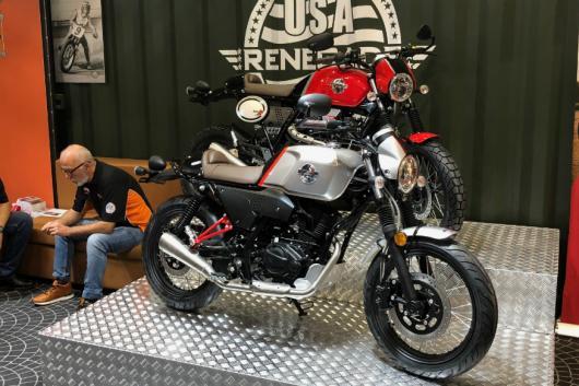 UM Cafe Racer and Scrambler X. (Image: UM Motorcycles)