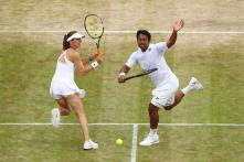 Paes, Hingis Knocked Out of Wimbledon by First Timers