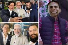 PM Modi Clicks Selfie with SRK and Aamir, Twitter Imagines Akshay Kumar's Reaction