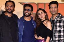 Ranveer Singh and Sara Ali Khan Launch 'Simmba' Trailer