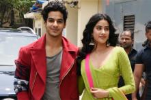 Janhvi Kapoor Dressed in a Manish Malhotra Anarkali is Giving Dhadak Vibes at the film's Trailer Launch