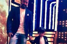 Jr NTR Rings In Son's Birthday On Sets Of Bigg Boss Telugu